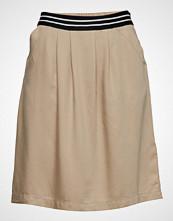 Marc O'Polo Skirt, Elastic In Back Body Kort Skjørt Beige MARC O'POLO