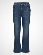 Wrangler Retro Straight Jeans Sleng Blå WRANGLER