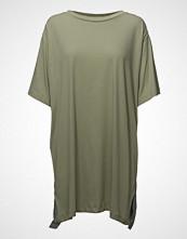 Diesel Women T-Grace Dress T-shirts & Tops Short-sleeved Grønn DIESEL WOMEN