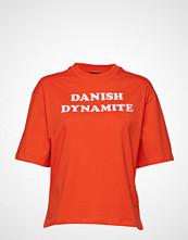 Hummel Hive Hmlava T-Shirt S/S T-shirts & Tops Short-sleeved Rød HUMMEL HIVE