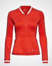 Skins Activewear Holm Womens Training L/S Fleece 1/2 Zip T-shirts & Tops Long-sleeved Oransje SKINS
