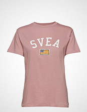 Svea Fina Tee T-shirts & Tops Short-sleeved Rosa SVEA