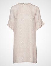 Mayla Stockholm Isa Silk Dress Kort Kjole Rosa MAYLA STOCKHOLM