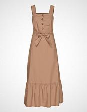 POSTYR Poszaria Dress Knelang Kjole Brun POSTYR