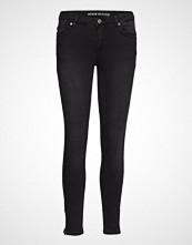 Denim Hunter Celina Zip Custom Skinny Jeans Svart DENIM HUNTER