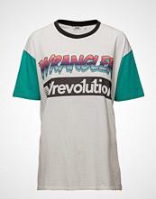 Wrangler Wrevolution Tee T-shirts & Tops Short-sleeved Hvit WRANGLER