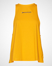 Tommy Sport Tomboy Tank Logo T-shirts & Tops Sleeveless Gul TOMMY SPORT