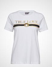 B.Young Bxsindie Tshirt - T-shirts & Tops Short-sleeved Hvit B.YOUNG