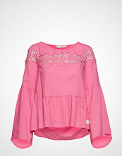 Odd Molly Lacey Moves Blouse Bluse Langermet Rosa ODD MOLLY