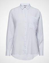 Only Onlfcarry Life L/S Shirt Wvn Langermet Skjorte Blå ONLY