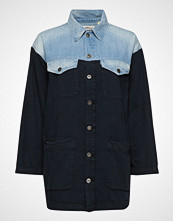 Levi's Made & Crafted Lmc Trucker Chore Coat Lmc Cow Langermet Skjorte Blå LEVI'S MADE & CRAFTED