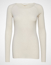 Gai+Lisva Amalie Solid T-shirts & Tops Long-sleeved Creme GAI+LISVA