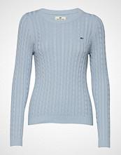 Lexington Clothing Felizia Cable Sweater Strikket Genser Blå LEXINGTON CLOTHING