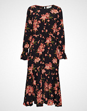 Just Female Oline Dress Knelang Kjole Svart JUST FEMALE