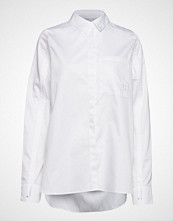 Raiine Roslyn Shirt Langermet Skjorte Hvit RAIINE