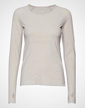 Casall Ventilation Long Sleeve T-shirts & Tops Long-sleeved Creme CASALL
