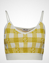 Baum Und Pferdgarten Catalonia T-shirts & Tops Sleeveless Gul BAUM UND PFERDGARTEN