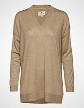 Lexington Clothing Ana Cotton Bamboo Sweater Strikket Genser Brun LEXINGTON CLOTHING