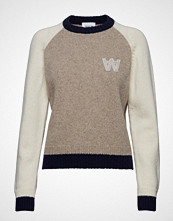 Wood Wood Asta Sweater Strikket Genser Creme WOOD WOOD