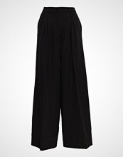 Designers Remix Veronique Pants Vide Bukser Svart DESIGNERS REMIX