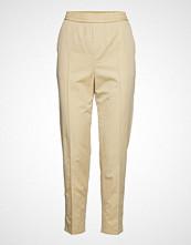 Filippa K Fiona Summer Trouser Bukser Med Rette Ben Beige FILIPPA K