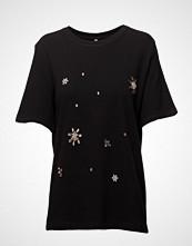 Imitz Pullover Light T-shirts & Tops Short-sleeved Svart IMITZ