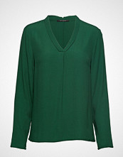 Bruuns Bazaar Liva Top Bluse Langermet Grønn BRUUNS BAZAAR