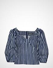 Marimekko JokatyttÖ Piccolo Shirt Bluse Langermet Blå MARIMEKKO