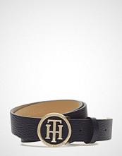 Tommy Hilfiger Th Round Buckle Belt 3.0 Belte Blå TOMMY HILFIGER