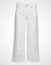 Mango Culotte Relaxed Jeans Vide Bukser Hvit MANGO