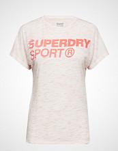 Superdry Sport Core Loose Tee T-shirts & Tops Short-sleeved Hvit SUPERDRY SPORT