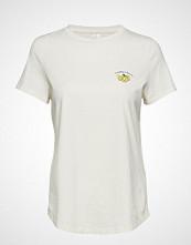 Banana Republic Ss Supima Crew Banana T-shirts & Tops Short-sleeved Hvit BANANA REPUBLIC