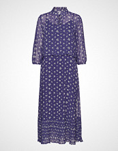 Saint Tropez Woven Dress Maxi Knelang Kjole Blå SAINT TROPEZ