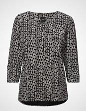 Nanso Ladies Shirt, Vino Bluse Langermet Svart NANSO