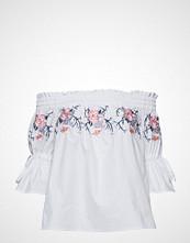 By Malina Ebony Blouse Bluse Langermet Hvit BY MALINA