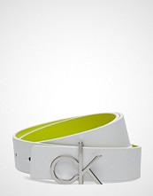Calvin Klein 3cm Rev. Ck Giftset Belte Hvit CALVIN KLEIN