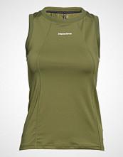 Newline Black Tank T-shirts & Tops Sleeveless Grønn NEWLINE