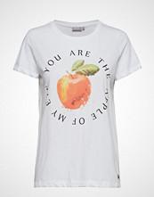Fransa Frdibox 1 T-Shirt T-shirts & Tops Short-sleeved Hvit FRANSA