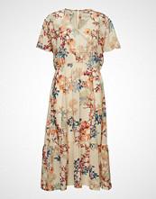 Lollys Laundry Filuca Dress Knelang Kjole Rosa LOLLYS LAUNDRY