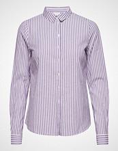 Vila Visilina L/S Shirt Langermet Skjorte Lilla VILA