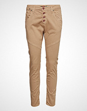 Please Jeans Retro Old Classic Cotton Slim Jeans Beige PLEASE JEANS