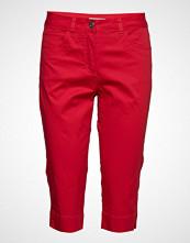Brandtex Capri Pants Skinny Jeans Rød BRANDTEX