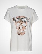 Munthe Darling T-shirts & Tops Short-sleeved Hvit MUNTHE
