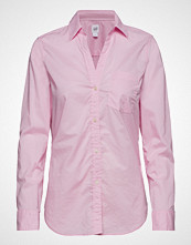GAP Fitted Bf Shirt Langermet Skjorte Rosa GAP