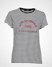 Karl Lagerfeld Rue Lagerfeld T-Shirt T-shirts & Tops Short-sleeved Blå KARL LAGERFELD