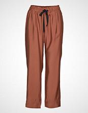 Second Female Breeze Hw Trousers Vide Bukser Oransje SECOND FEMALE
