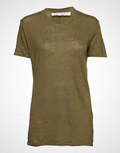Iro Luciana T-shirts & Tops Short-sleeved Grønn IRO