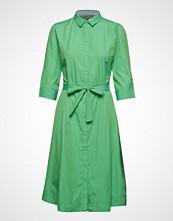 B.Young Byfarsara Shirt Dress - Knelang Kjole Grønn B.YOUNG