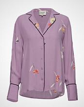 Second Female Lissa Shirt Bluse Langermet Lilla SECOND FEMALE