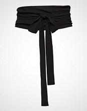 Filippa K Soft Tie Belt Belte Svart FILIPPA K